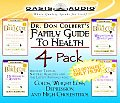 Dr. Colbert's Family Guide to Health 4 Pack