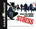 What the Bible Says about Stress: Personal Stories, Categorized Scriptures, and Practical Advice