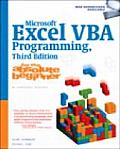 Microsoft Excel VBA Programming for the Absolute Beginner 3rd Edition