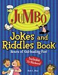 Jumbo Jokes & Riddles Book Hours of Gut Busting Fun With 75 Stickers