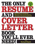 Only Resume & Cover Letter Book Youll Ever Need 400 Resumes for All Industries & Positions 400 Cover Letters for Every Situation With CDROM