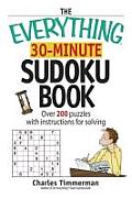 Everything 30 Minute Sudoku Book