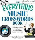 The Everything Music Crosswords Book: 150 Chart-Topping Puzzles to Challenge Your Musical Knowledge (Everything) Cover