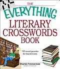 Everything Literary Crosswords Book 150 Novel Puzzles for Book Lovers