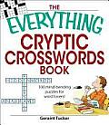 Everything Cryptic Crosswords Book 100 Mind Bending Puzzles for Word Lovers