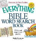The Everything Bible Word Search Book: 150 Fun and Inspirational Puzzles (Everything) Cover