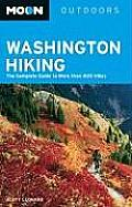 Moon Washington Hiking (Moon Washington Hiking) Cover