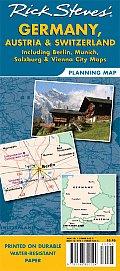 [Rick Steves Germany, Austria, and Switzerland Map