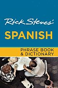 Rick Steves' Spanish Phrase Book & Dictionary (Rick Steves' Phrase Books) Cover