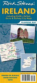 Rick Steves' Ireland Planningmap: Including Dublin, Belfast, Derry & Galway City Maps (Rick Steves' Planning Map)