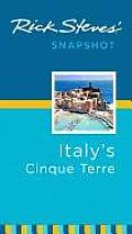 Rick Steves Snapshot Italys Cinque Terre 1st Edition