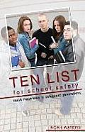 Ten List for School Safety: Teach These Laws to Safeguard Generations