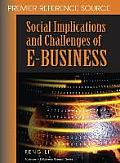 Social Implications and Challenges of E-Business Cover
