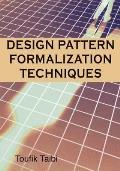 Design Patterns Formalization Techniques