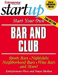 Startup Start Your Own Bar & Club