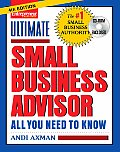 Ultimate Small Business Advisor: All You Need to Know with CDROM