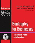 Bankruptcy for Businesses The Benefits Pitfalls & Alternatives Steps to Take to Avoid Bankruptcy Non Bankruptcy Alternatives & the New Wit