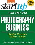 Start Your Own Photography Business Studio Freelance Gallery Events