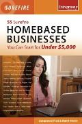 55 Surefire Homebased Businesses...