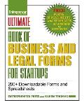 Ultimate Book Of Legal & Startup Forms