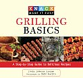 Grilling Basics: A Step-By-Step Guide to Delicious Recipes (Knack: Make It Easy) Cover