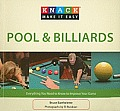 Pool & Billiards: Everything You Need to Know to Improve Your Game (Knack: Make It Easy) Cover