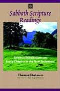 Sabbath Scripture Readings Meditations on Every Chapter of the New Testament