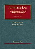 Antitrust Law (3RD 06 - Old Edition)