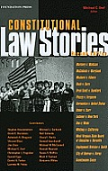 Dorf's Constitutional Law Stories, 2D