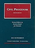 2010 Supplement Civil Procedure Rules Statutes & Recent Developments