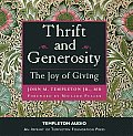 Thrift and Generosity: The Joy of Giving