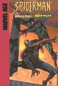 Where Flies the Beetle!: Guest-Starring the Human Torch
