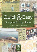 Quick & Easy Scrapbook Page Ideas (CD)