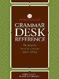 Writer's Digest Grammar Desk Reference: The Definitive Source for Clear and Concise Writing Cover