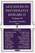 Advances in Psychology Researchvolume 43