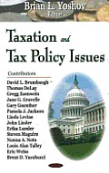 Taxation and Tax Policy Issues