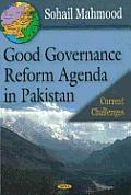 Good Governance Reform Agenda in Pakistan