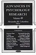 Advances in Psychology Researchv. 49