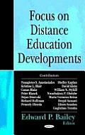 Focus on Distance Education Developments