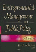Entrepreneurial Management and Public Policy