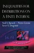 Inequalities for Distributions on a Finite Interval