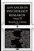 Advances in Psychology Researchv. 53