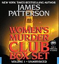 Womens Murder Club Box Set Volume 1 1st To Die 2nd Chance & 3rd Degree Unabridged