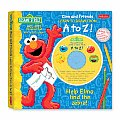 Sesame Street's Elmo and Friends Learn to Draw from A to Z: Help Elmo Find the Zebra! (Learn to Draw from A to Z)