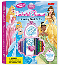 Learn to Draw Disney's Enchanted Princesses Drawing Book & Kit: Includes Everything You Need to Draw Your Favorite Disney Princesses!