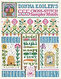 Donna Koolers 555 Cross Stitch Sampler Motifs