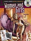 Comic Artists Photo Reference Women & Girls With CDROM