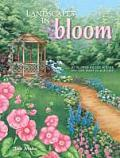 Landscapes in Bloom: 10 Flower-Filled Scenes You Can Paint in Acrylics Cover