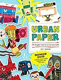 Urban Paper 25 Designer Toys to Cut Out & Build