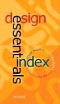 Design Essentials Index Color Index 2 Type Idea Index & Design Basics Index in a Box
